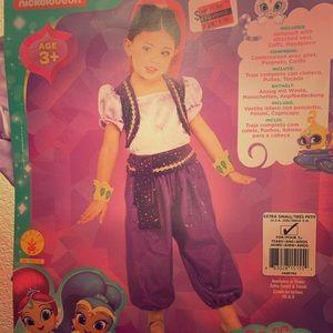 Shimmer Shine Halloween Costume xsmall purple new